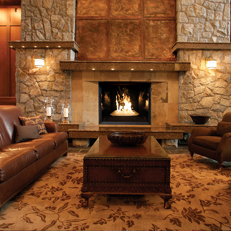 Gas Fireplaces - Town & Country | Mountain West Sales