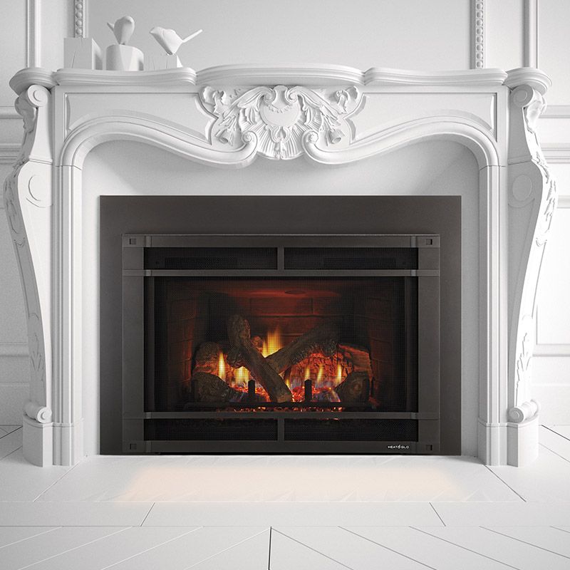Gas Fireplace Inserts - Heat & Glo | Mountain West Sales