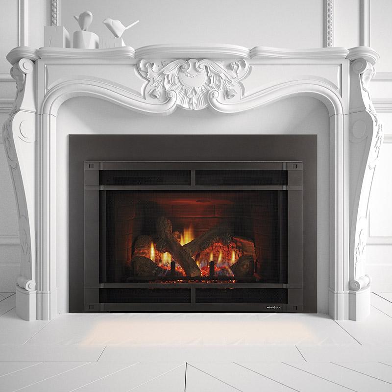 Gas Fireplace Inserts - Heat & Glo | Mountain West Sales