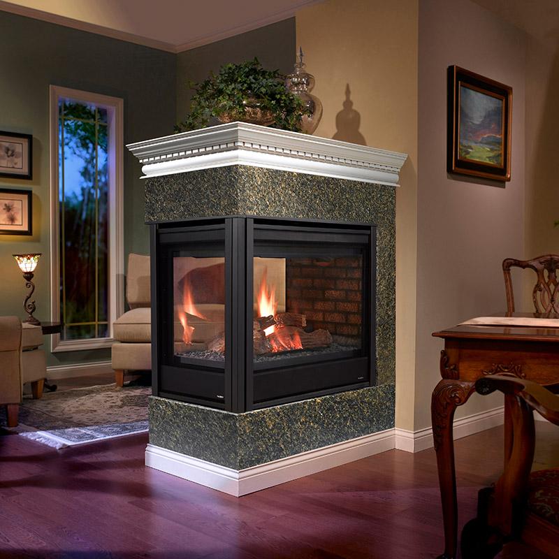 See Through Fireplaces Heatilator Mountain West Sales
