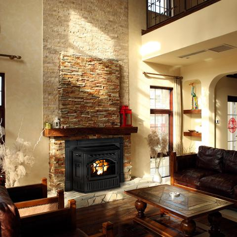 Pellet Fireplace Inserts Quadrafire Mountain West Sales